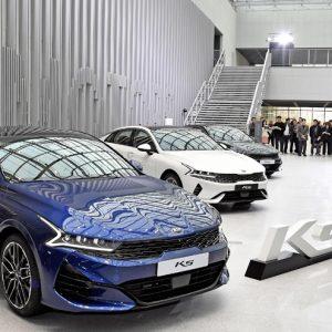 Kia открывает прием заказов на новое поколение седана К5 в Корее