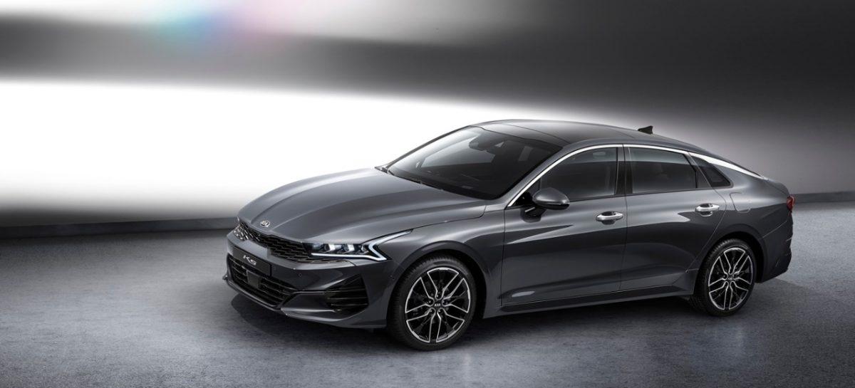 Kia представляет первые официальные изображения нового поколения седана К5 для рынка Кореи