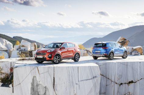 Kia Sportage стал победителем в номинации Семейные автомобили