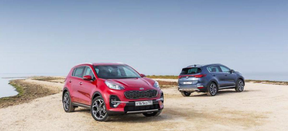 Kia вышла на первое место по продаже автомобилей