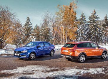Начались продажи обновленной Lada Vesta