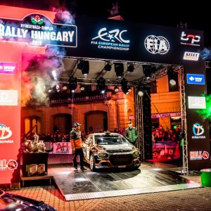 В Венгрии завершился заключительный этап чемпионата Европы по ралли