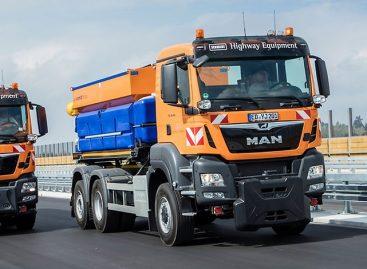 Грузовики Man выбраны для дорожных работ на автобане в Германии