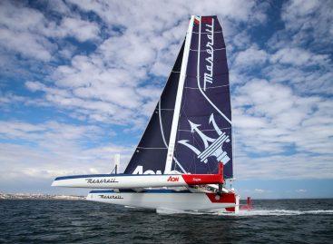 Инновации Maserati на борту тримарана Multi 70
