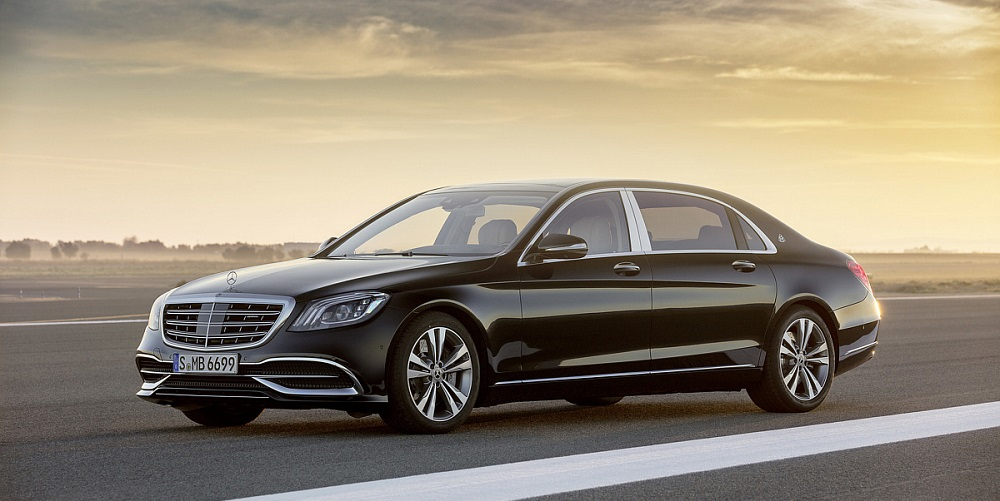 Mercedes-Benz двигатель V12 S-Class