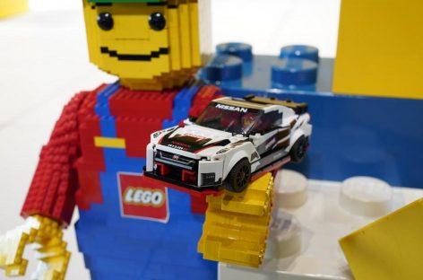 Легендарный Nissan GT-R NISMO собрали из деталей конструктора Lego