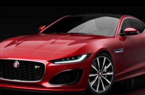 Первые фото обновленного Jaguar F-Type