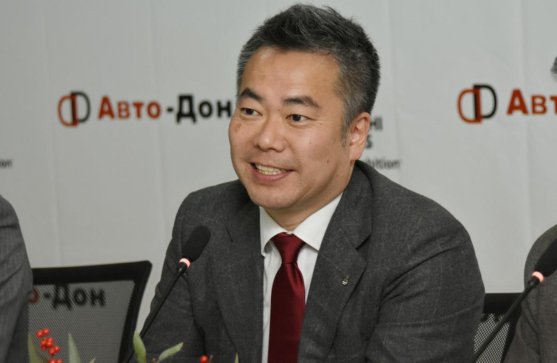 Осаму Иваба, Президент и главный исполнительный директор ООО «ММС Рус»,