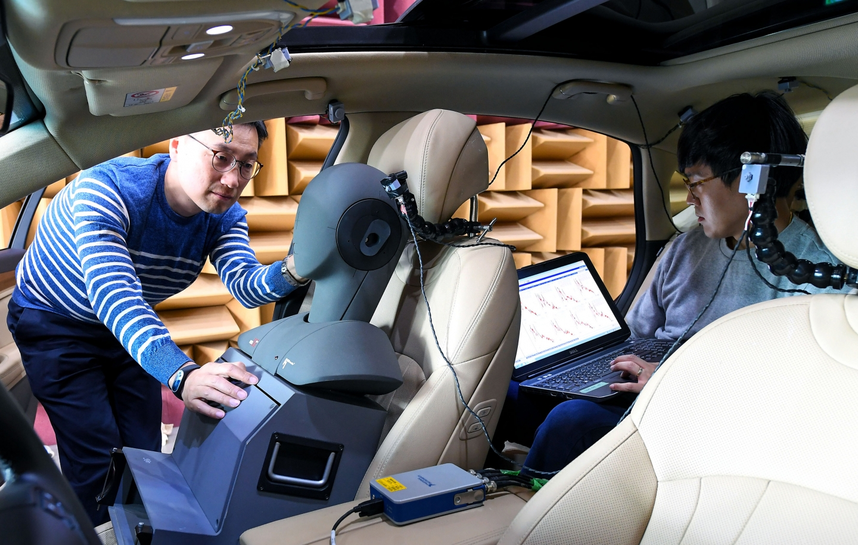 Hyundai система шумоподавления