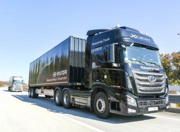 Hyundai Motor демонстрирует возможности беспилотного вождения грузовой автоколонны