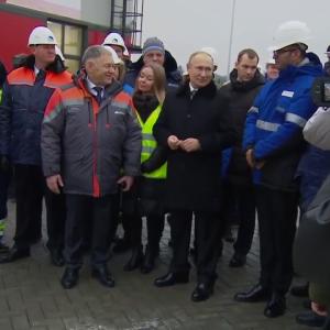 Путин открыл скоростную платную трассу М11