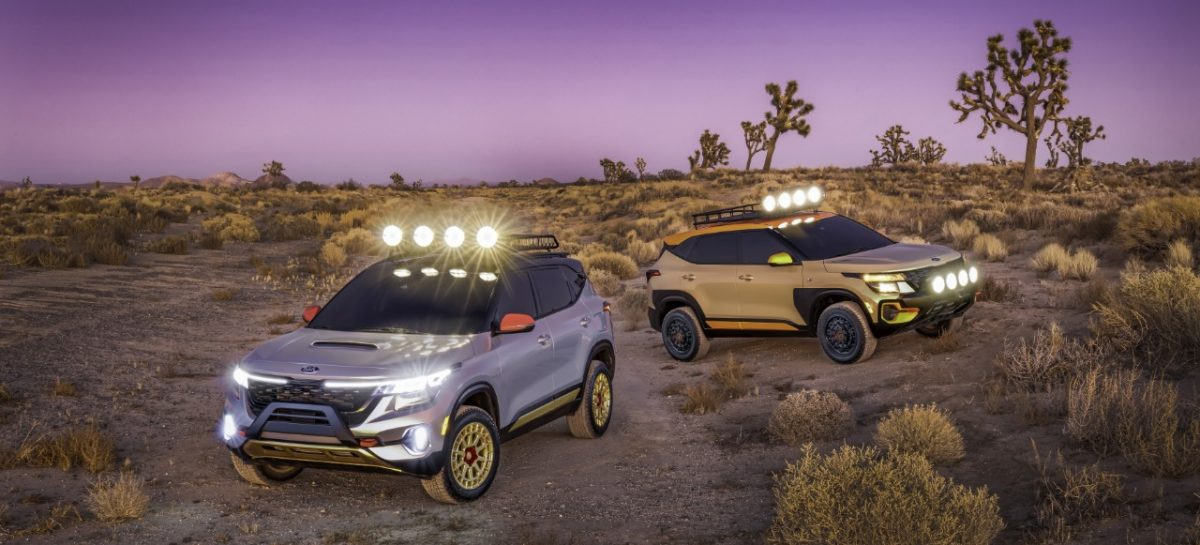 Премьера концептов Kia Seltos X-Line на автосалоне в Лос-Анжелесе