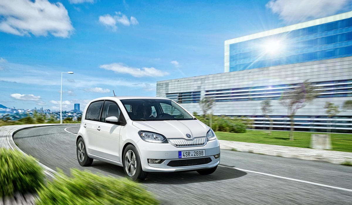 Стартовало производство электромобиля SKODA CITIGOe iV