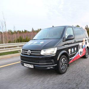 Volkswagen поддержал автопробег «Наши парни» в поддержку сборной России по футболу