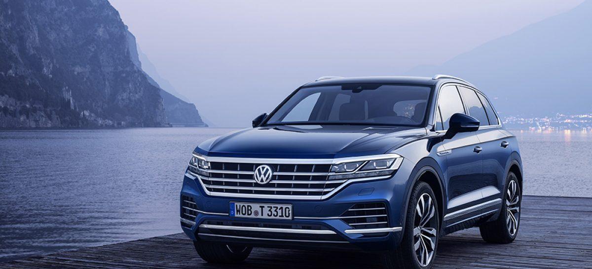 Volkswagen представляет Touareg Business