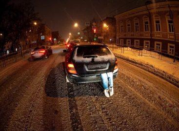"""Полиция Тюмени нашла """"труп"""" в багажнике"""