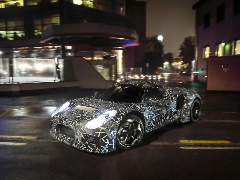 Замечен новый Maserati