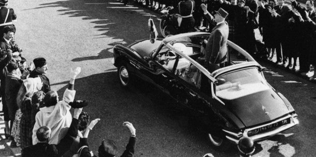 Шарль Де Голль в Ситроене