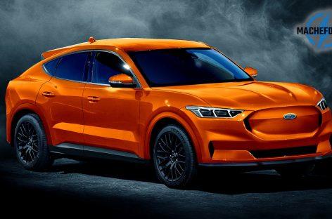 Электрический кроссовер в дизайне спорткара Mustang