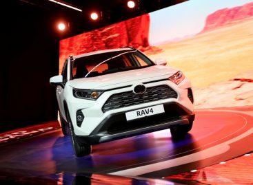 Старт дан: успешный запуск производства нового Toyota RAV4