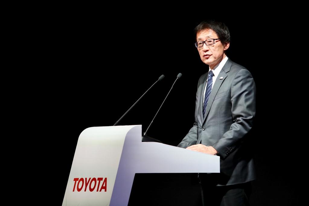 Исполнительный вице-президент Тойота Мотор Корпорэйшн Ёсида Моритака