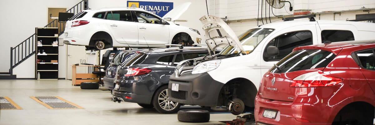 Renault сервисное обслуживание