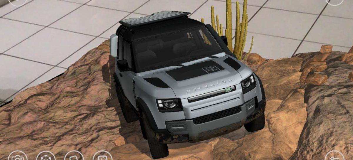Land Rover выпустил мобильное приложение для поклонников внедорожника Defender