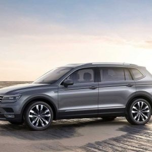 Семиместный Volkswagen Tiguan Allspace появится в России
