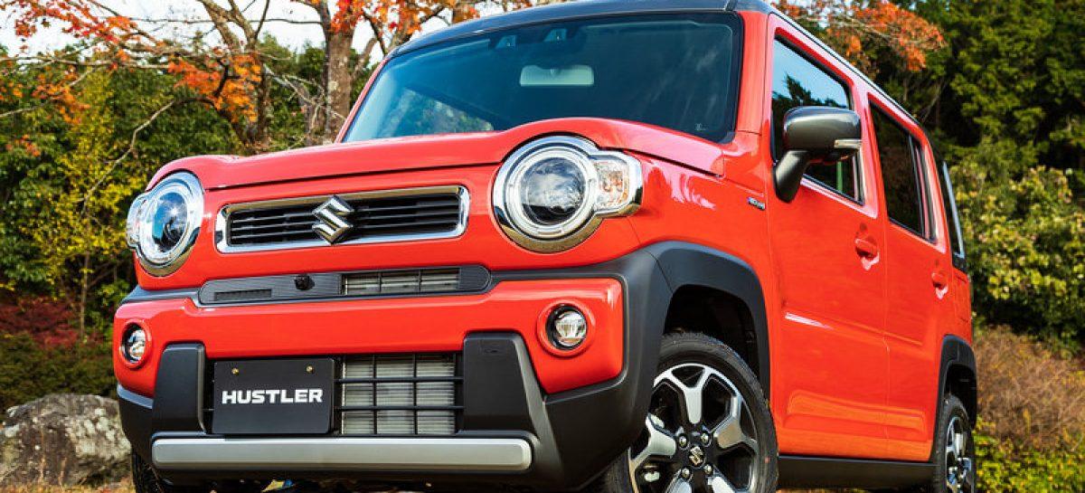 Suzuki Hustler второго поколения изменился, но сохранил свой фирменный стиль