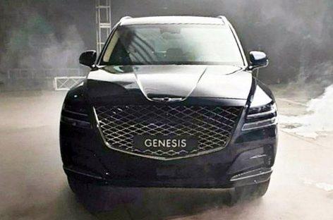 Фотографии кроссовера Genesis GV80