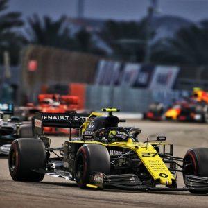 Renault F1 Team на Гран-при Абу-Даби
