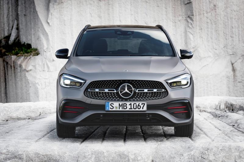 Новый Mercedes-Benz GLA