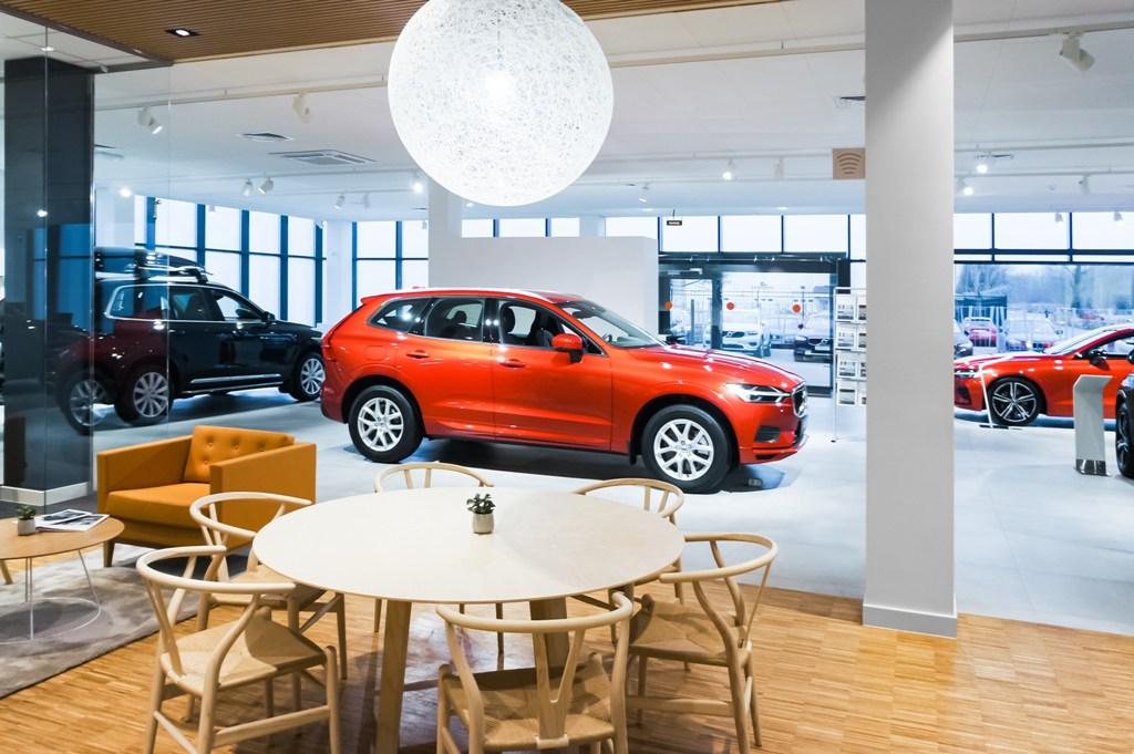 Салон Volvo Car Family в Санкт-Петербурге