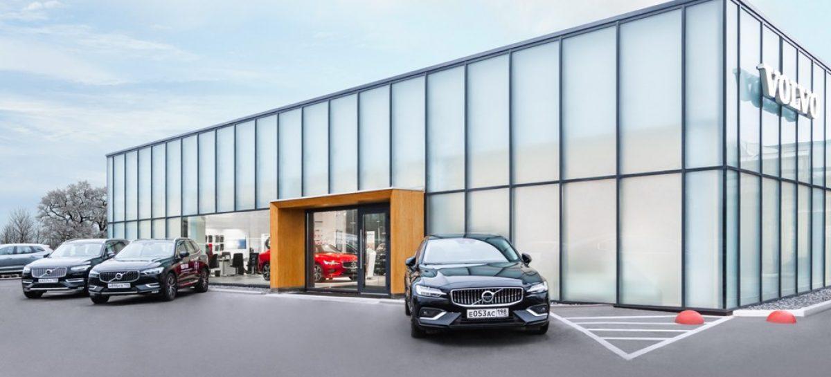 Салон Volvo Car Family в Санкт-Петербурге встречает посетителей после глобальной реконструкции