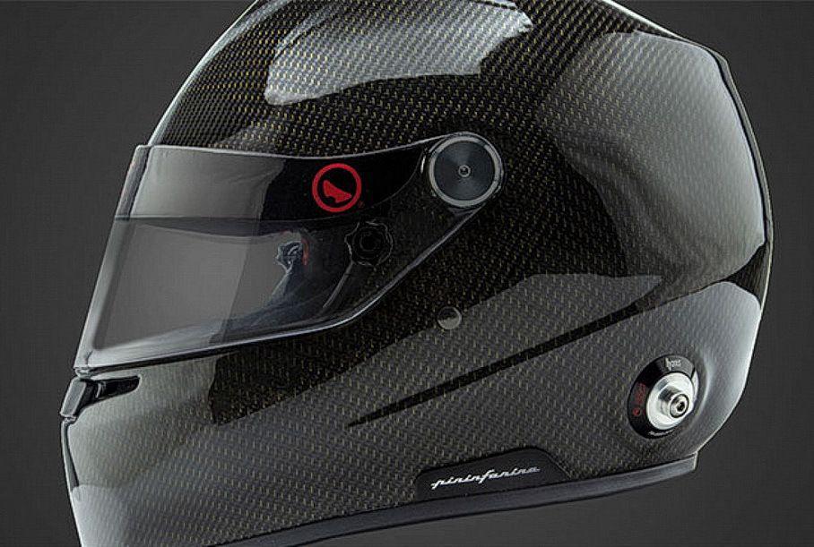 Pininfarina выпустила инновационный шлем с водяным охлаждением