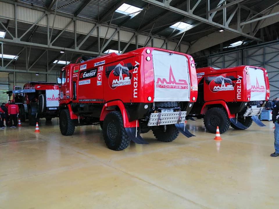 Четыре экипажа выступят на «Дакар - 2020» при поддержке «Газпромнефть - смазочные материала»