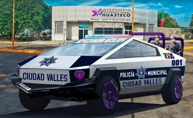 Мексиканская полиция предзаказала 15 Cybertruck от Tesla вслед за полицией Дубая