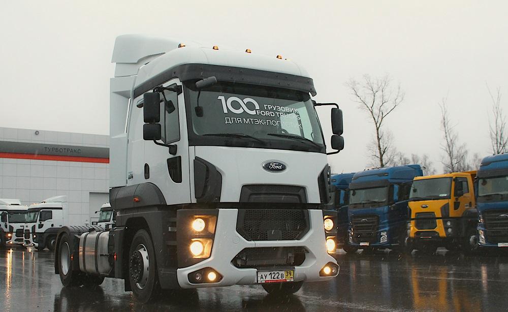 Большая партия тягачей Ford Trucks передана крупному перевозчику