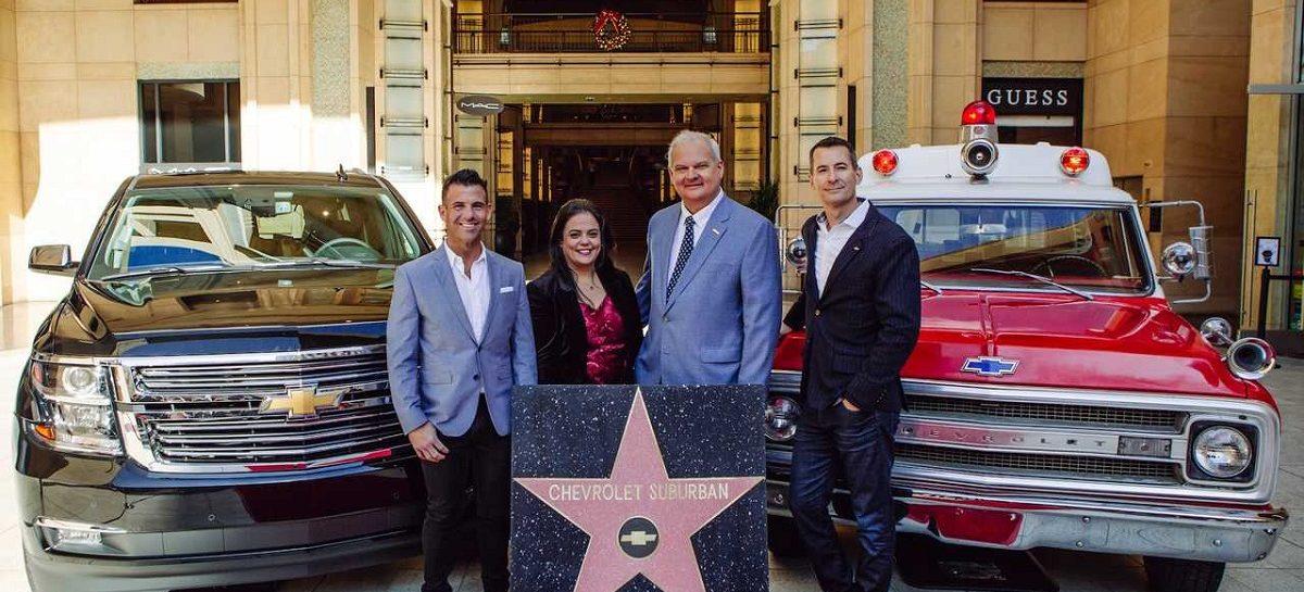 Chevrolet Suburban получил звезду на Аллее славы в Голливуде