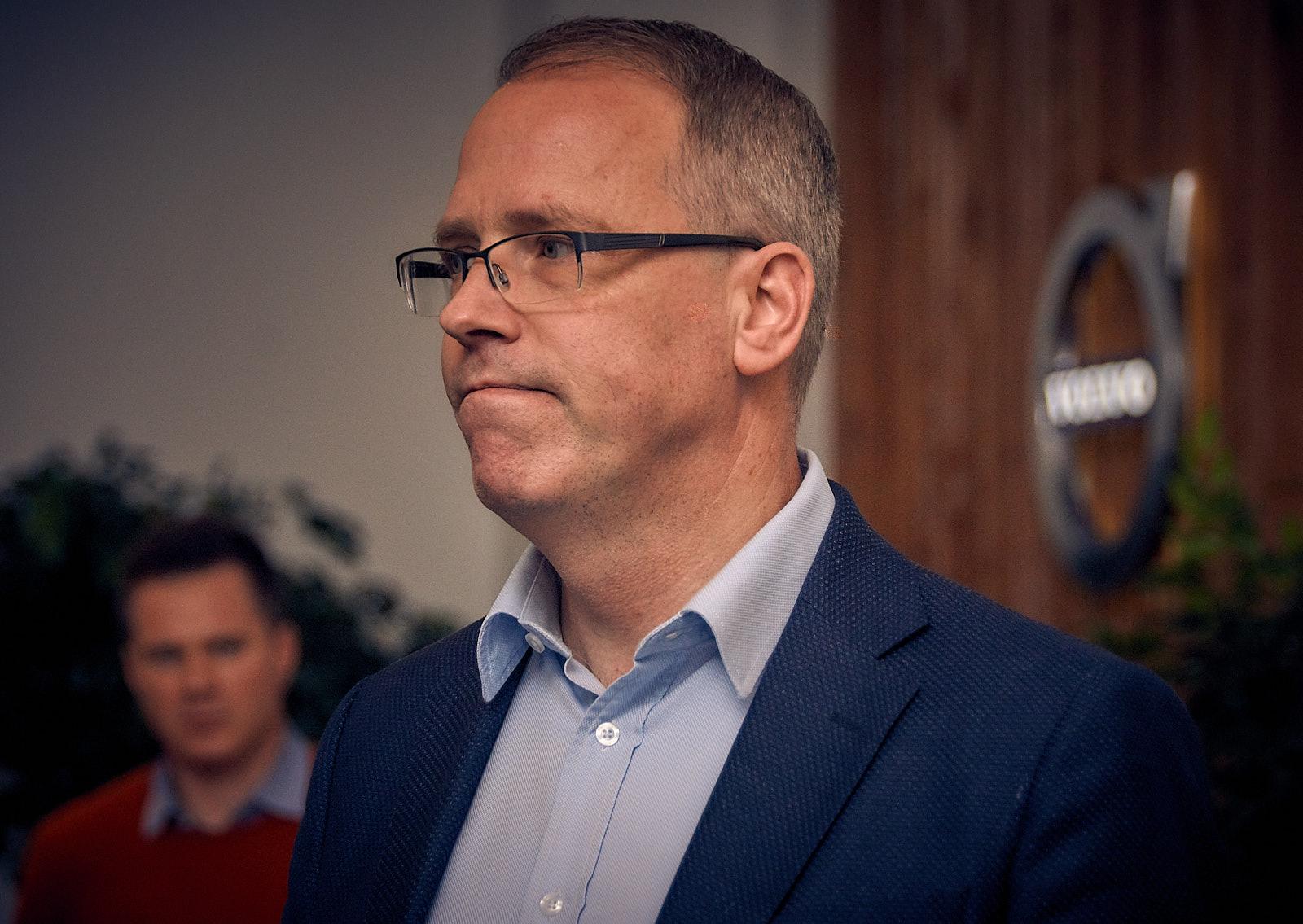 Мартин Перссон (Martin Persson), президент и генеральный директор Volvo Car Russia