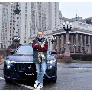 Maserati Levante стал официальным автомобилем для поездок Массимо Боттуры по Москве
