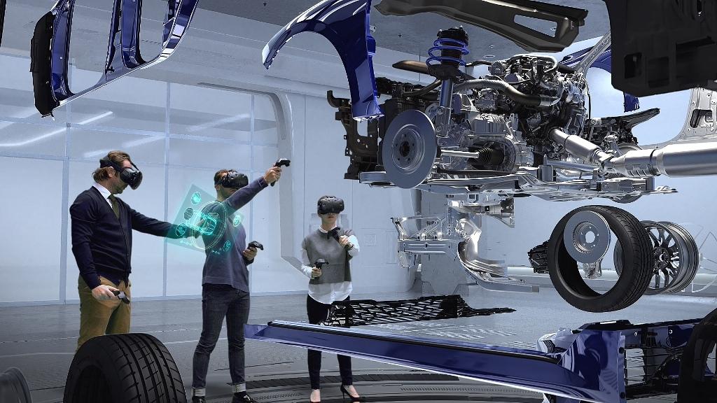 KIA внедряет систему виртуальной реальности для проектирования автомобилей