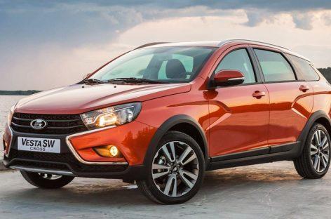 Lada Vesta вернулась на второе место в рейтинге российских бестселлеров
