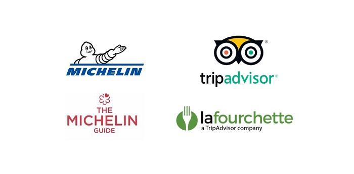 Michelin, TripAdvisor и TheFork