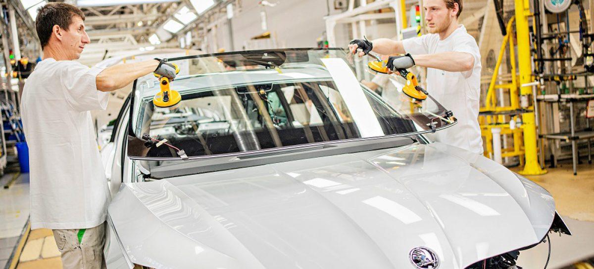 На заводе Skoda в Млада-Болеславе стартовало производство Octavia четвертого поколения
