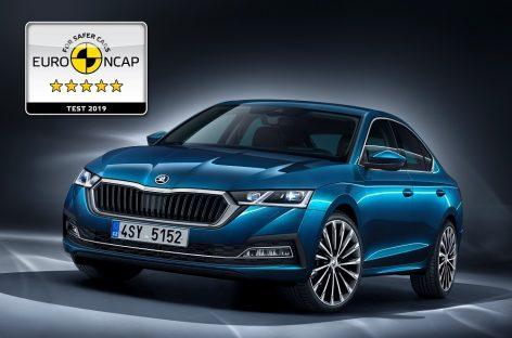 Skoda Octavia получила пять звезд Euro NCAP