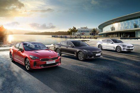 Kia Motors представляет фастбек Stinger 2020 модельного года