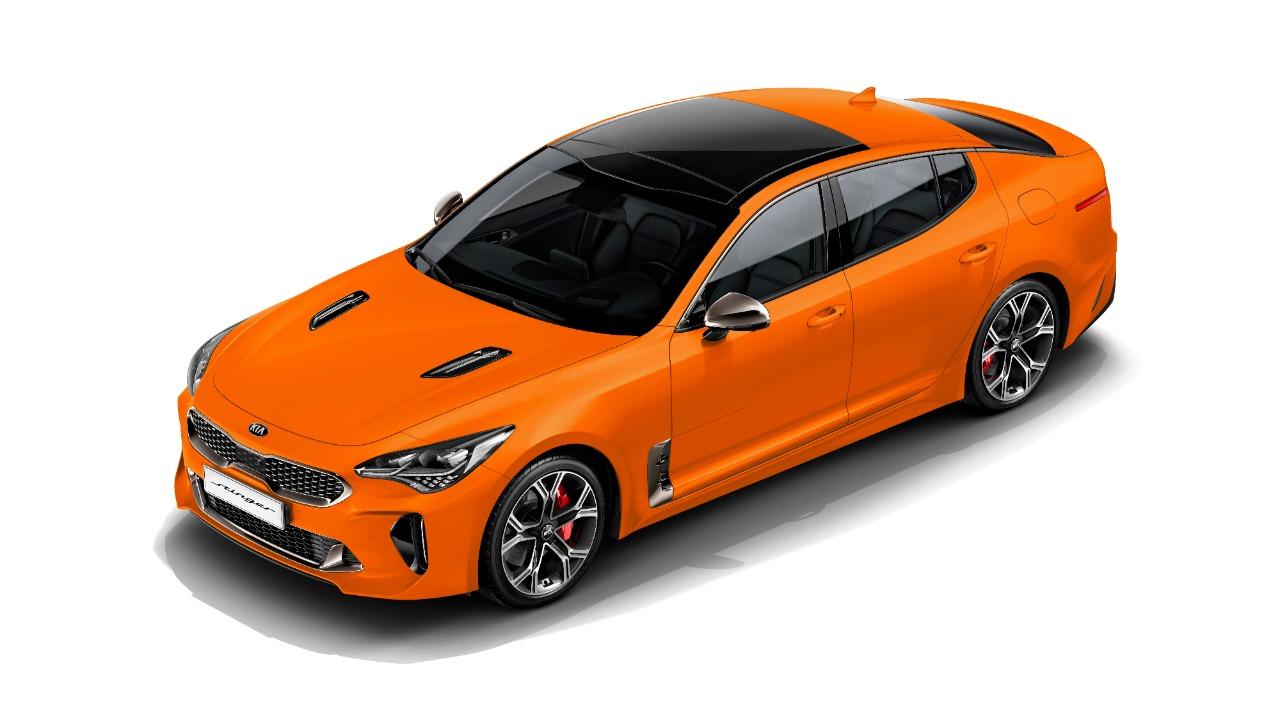 Kia Motors представляет фастбек Stinger 2020