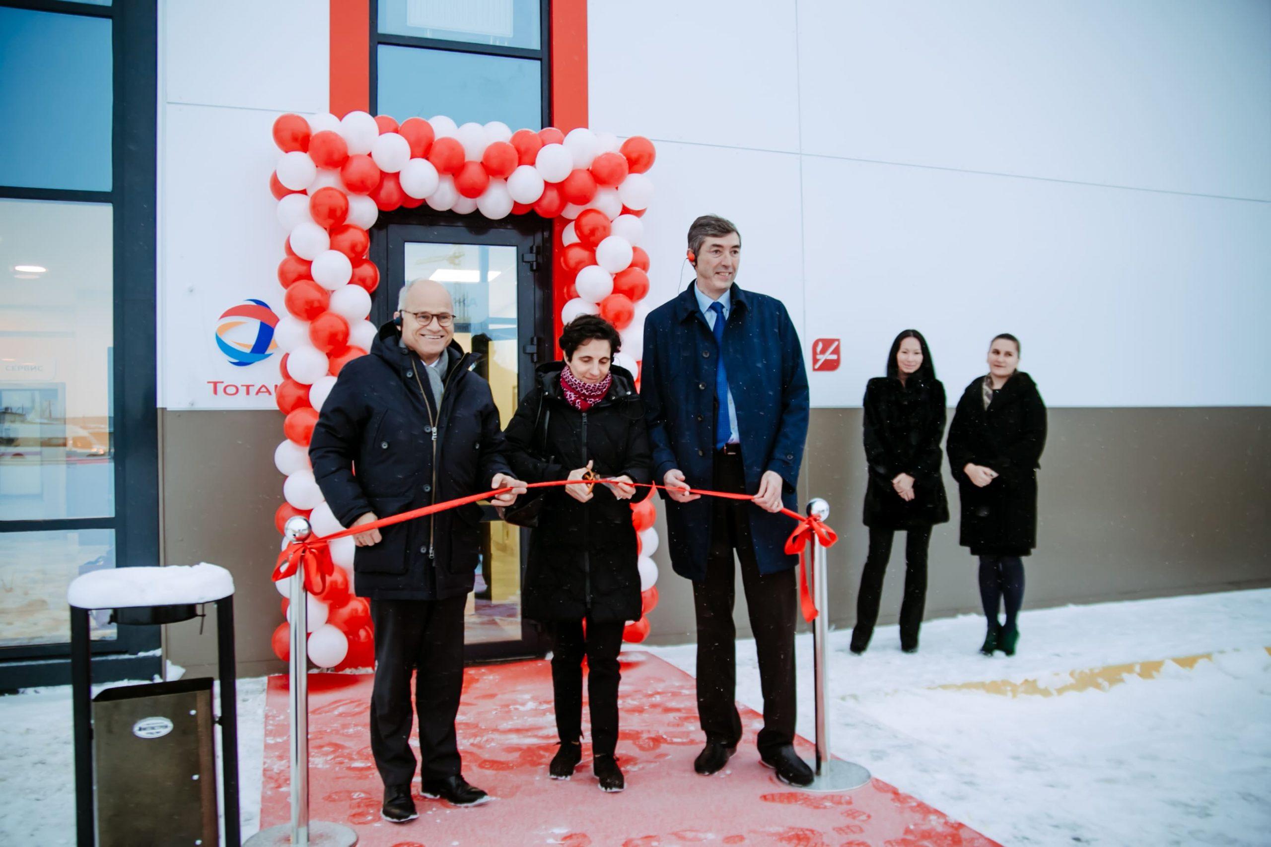 Открытие новой станции Total ROC в России и 500-ой в Европе
