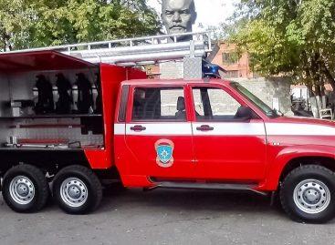 УАЗ показал шестиколесный Patriot